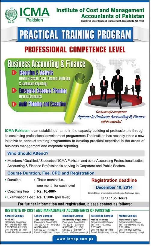 ICMA-Pakistan-Practical-Training-2014