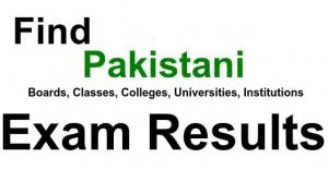 class exam results pakistan