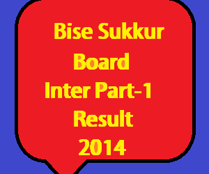 sukkur board inter part 1 result