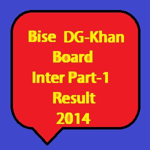 dg khan board 11th class result 2014