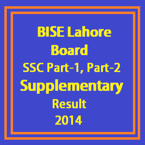 9th class supply result 2014