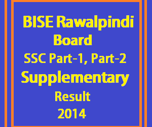 Bise_Rawalpindi 10th 9th class supply result