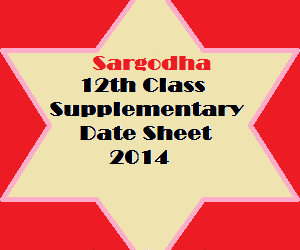 Sargodha_12th_class_supply_datesheet_2014