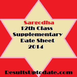 Sargodha_12th_class_supply_datesheet_2014