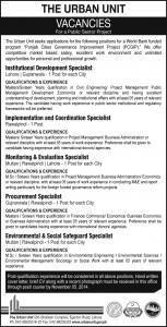 Urban-Unit-Punjab-jobs-2014