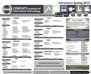 admission open at comset