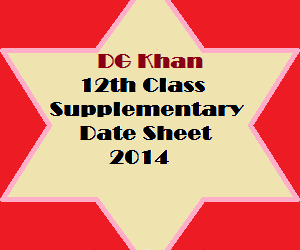 dgkhan_12th_class_supply_datesheet_2014