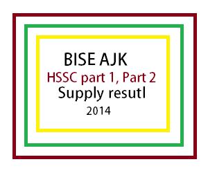 ajk board supply result 2014