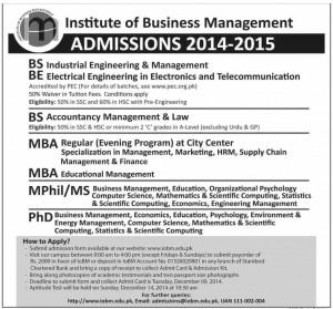 IBM admission