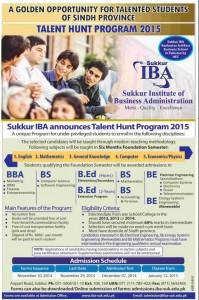 Talent-Hunt-Program-IBA-Sukkur