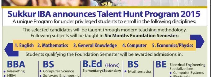 Talent-Hunt-Program-IBA-Sukkur