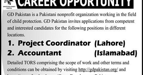 vacancies in pakistan
