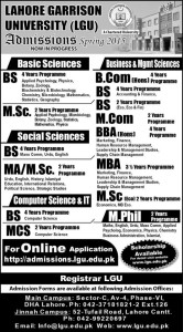 lgu university admission